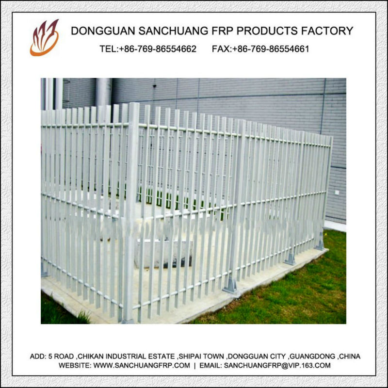 GRP/FRP Construction Fence Profiles