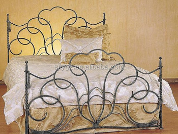Hot sales u0026 New design wrought iron canopy bed & Hot Sales u0026 New Design Wrought Iron Canopy Bed - Buy Wrought Iron ...