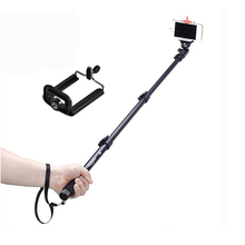 Hot sale yunteng 188 carbon fiber phone camera bluetooth monopod tripod