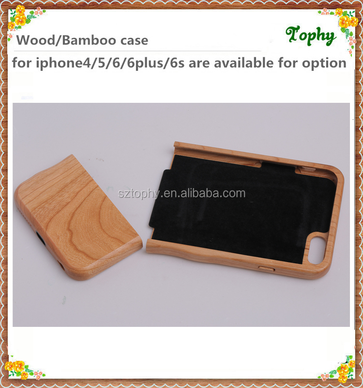 Popular detachable wood phone case in australia, Fashion wooden product for iphone case special camber design easy to carry