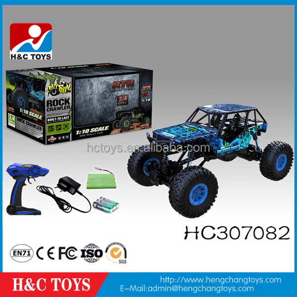 Newest rc car 1:10 Scale 2.4GHZ 4 WD RC Rock Crawler For Sale HC307082