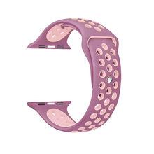 Силиконовый ремешок для apple watch 42 мм 38 мм, сменный Браслет iwatch 4/3/2, ремешок для apple watch 44 мм 40 мм, браслет, спортивный ремешок для часов(Китай)