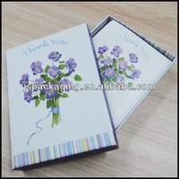 Wholesale clear plastic business card boxes/Silver card box/Rigid card box
