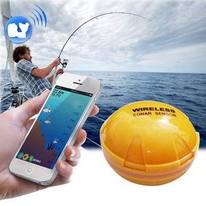 2018 new Factory Price Wifi Sonar Fish Finder FF916 Sensor Lure FindFish Echo Sounder Alarm Fishing Finder with DeeperFinder