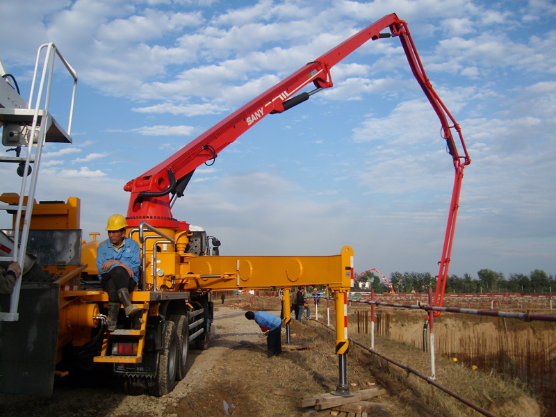 SANY SY5530THB Truck-mounted Concrete Pump 62m Concrete Pumps Truck for Sale