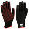 Seeway Palm PVC Dots Gloves Red PVC Knitted Work Gloves