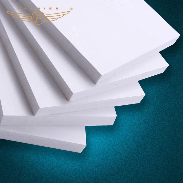 3mm thickness rigid type pvc foam sheet plastic matte pvc foam board made by China manufacturers