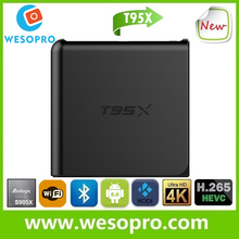 T95X Android Smart TV Box with amlogic S905X processor 2GB RAM 16GB ROM