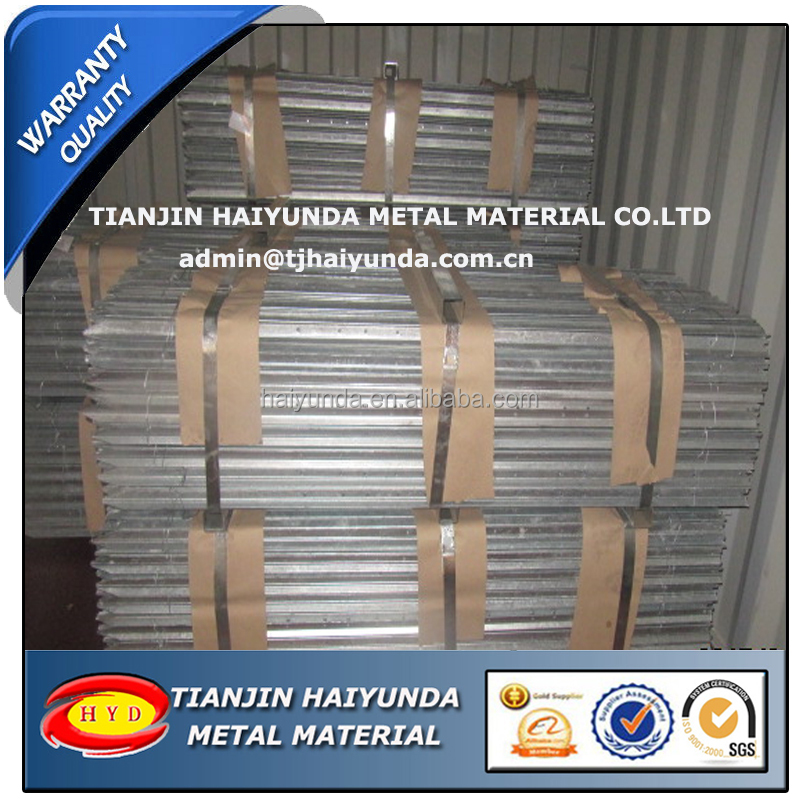 Australia Galvanized Steel Y Fence Post/Star Picket made in Tianjin China