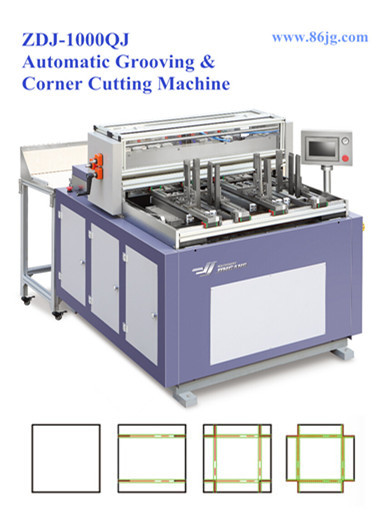 ZDJ-1000QJ Shoe Box Corner Grooving Cutting Machine