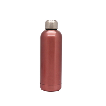 Hot Search Discount 750ml Leak Proof Double Wall Vacuum Stainless Steel Cola Shape Bottle
