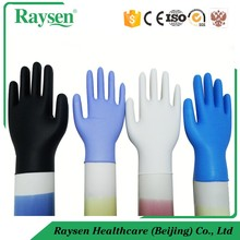 Colored Disposable Powder Free Nitrile Gloves