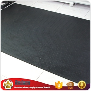 New Stylish Rubber Mat Gym Room Fitness Rubber Flooring For Export