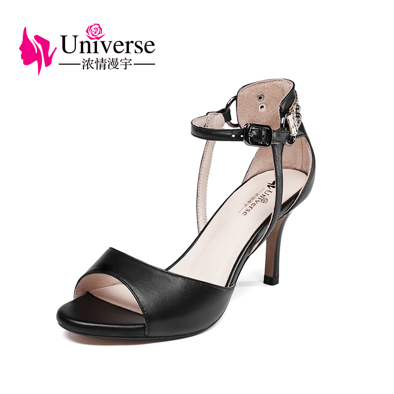 G020 genuine leather elegant slim high heel women sandals bridal shoes china