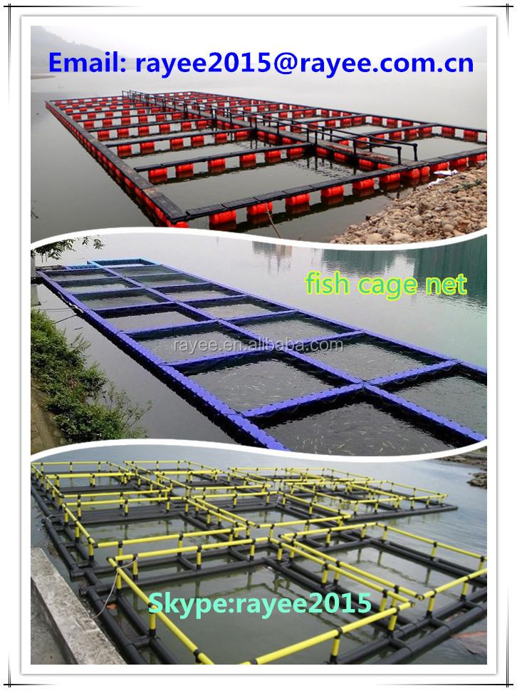 Piscicultura jaula para peces de cr a hdpe la acuicultura for Jaulas flotantes para piscicultura