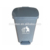 Pedal plastic dustbin with 60L capacity, wholesale plastic foot pedal waste bin