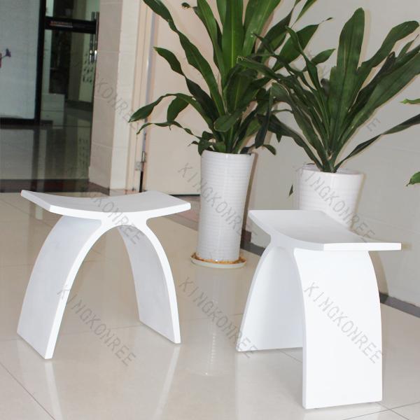 Acryl stein modernen hocker aluminium hocker bad stühle und hocker ... | {Duschhocker modern 51}