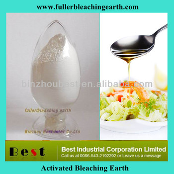 Acid Activated Bentonite Clay/bleaching Earth/fuller Earth /for ...