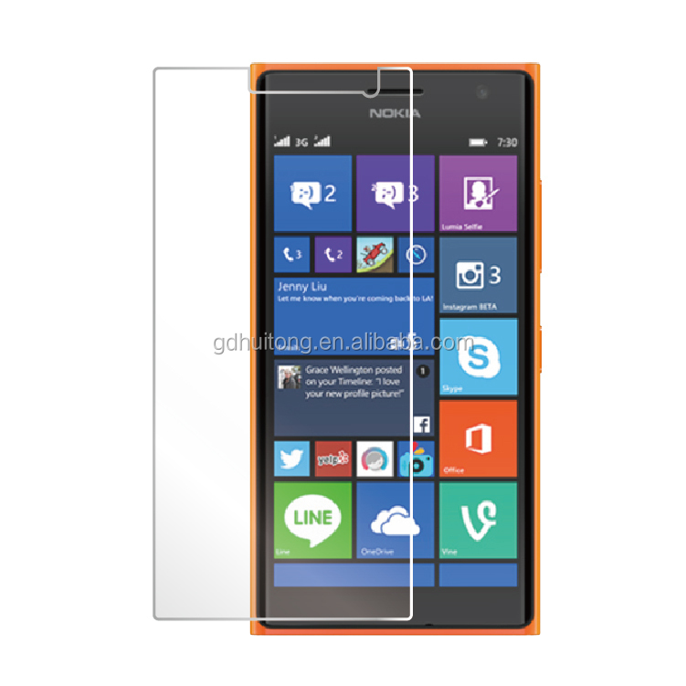 Premium tempered glass film 9H hardness Anti-shock Mobile phone screen film for Nokia N1