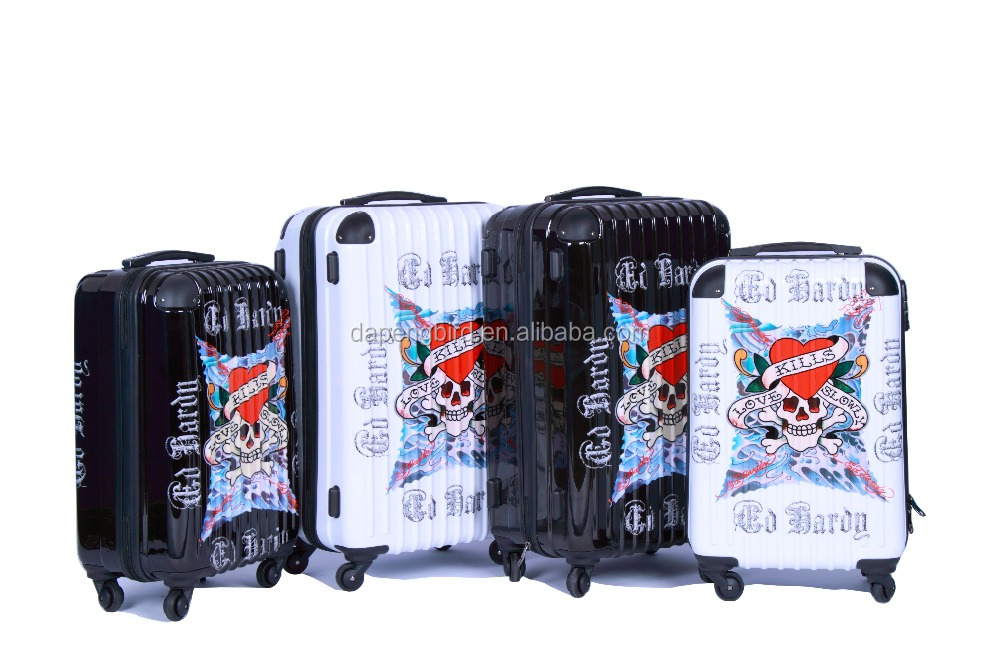 cartoon characters luggage