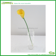 Mini en plastique artificielle real touch calla lily