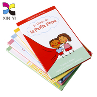 Custom print a single hardcover paint art book printing for kids