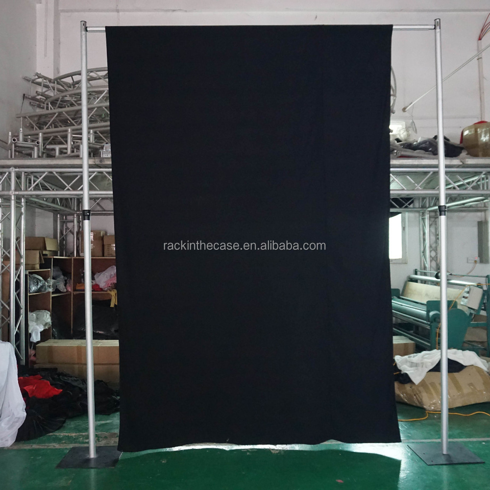 pole and drape top it use in drops diy with photography pockets few stand backdrops piece backdrop reasons two on i provides tutorial rustics my road pvc for bottom of a river pipe fabric the our drapes come