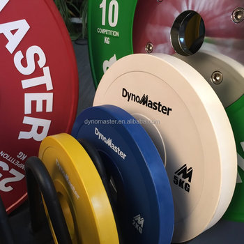 Dynomaster weight plate sets gym equipment powerlifting bumper plate set elite change plate & Dynomaster weight plate sets gym equipment powerlifting bumper ...