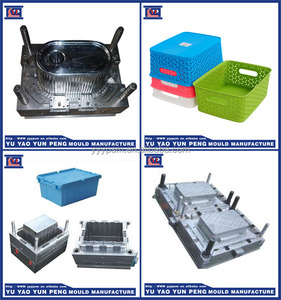 plastic basket moulding/tool /plastic injection mold maker