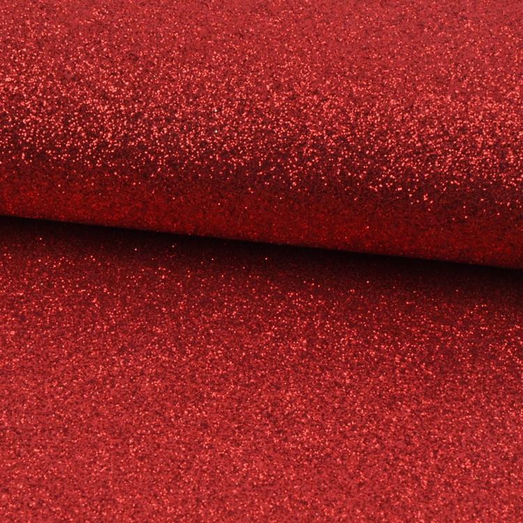 Factory Supply Shiny Cheap Red Glitter Wallpaper Uk