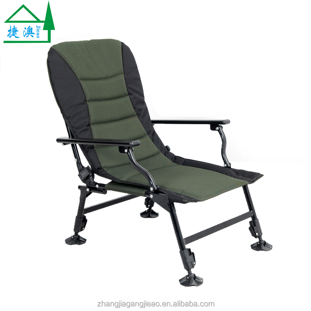 Ultimate Outdoor Adjustable Carp Fishing Chair with Adjustable Legs