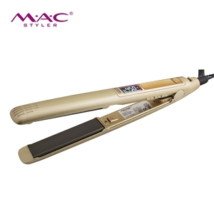 Professional salon Hair Straightener 1 inch Popular Custom Hair Straightener Salon LCD Display Flat Iron