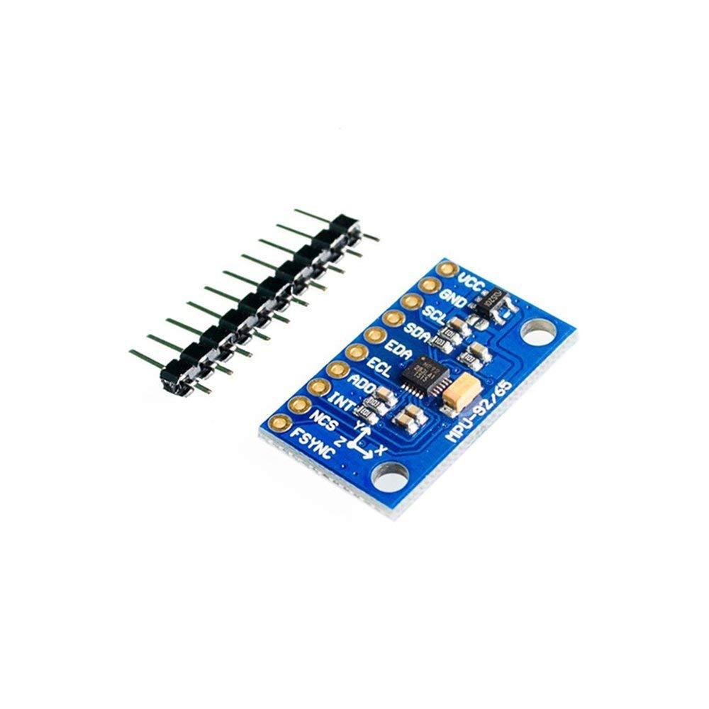 IIC/I2C MPU-9255 MPU9255 Three-Axis Gyroscope+Accelerator+Magnetometer Sensor Board Module GY-9255 3-5V Power
