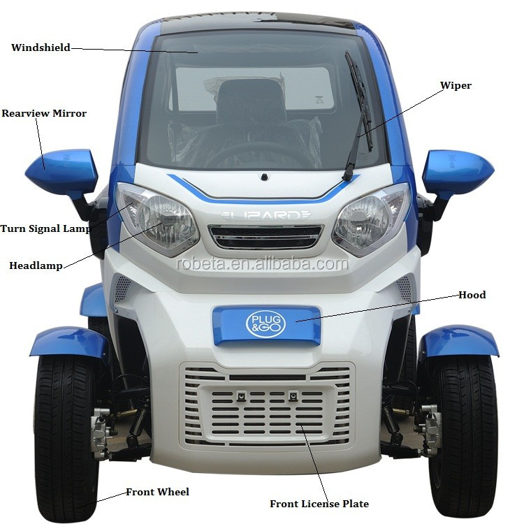 4-wheel electric car (5)