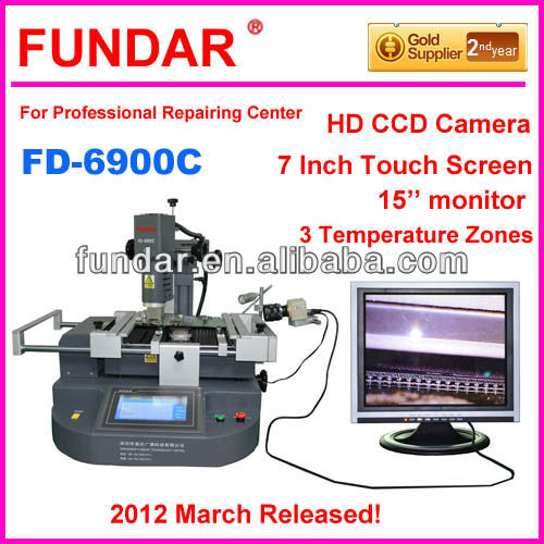 2013 NEW FUNDAR FD-6900C PLC control touch screen bga machine Upgrade from zm-r5860c