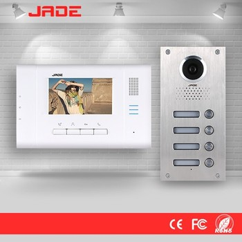 2 Wire Rfid Video Door Phone Intercom System For Wired Multi