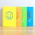 High Quality Plastic Front Cover Student Smiley School Note Book
