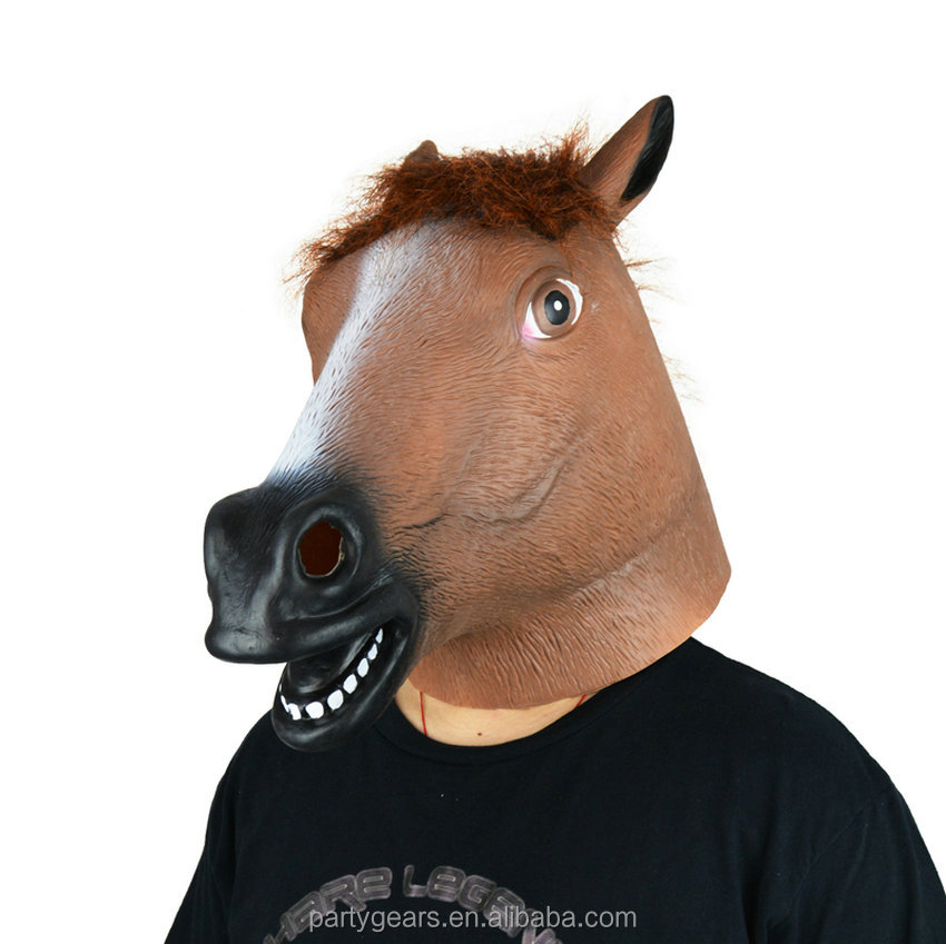 Top Quality Cute Face Mask Horse Mask for Party
