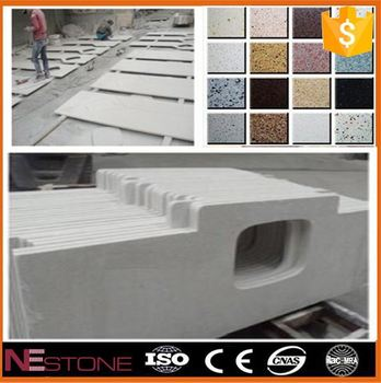 precut quartz stone kitchen countertop / composite granite