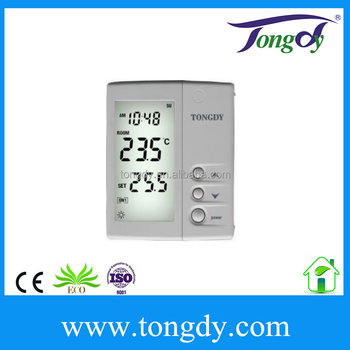 Top Dew Proof Thermostat Hydronic Radiant Floor Cooling
