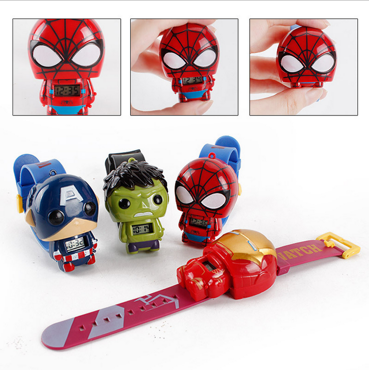Hot selling Kids watch Transformation toys for kids in 2020