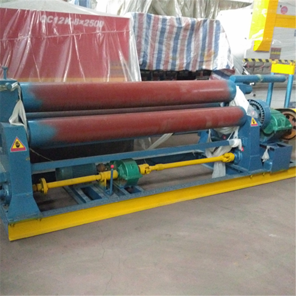 W11 Mechanical Three roller metal plate sheet rolling machine,rolling machine tobacco