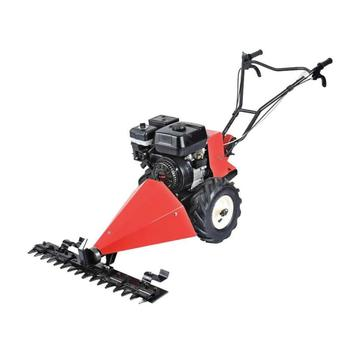 Walk Behind Sickle Bar Mower Gasoline Scythe Grass Cutting Mower - Buy  Self-propelled Brush Cutter,Sickle Scythe Lawn Mower,Walk Behind Sickle Bar