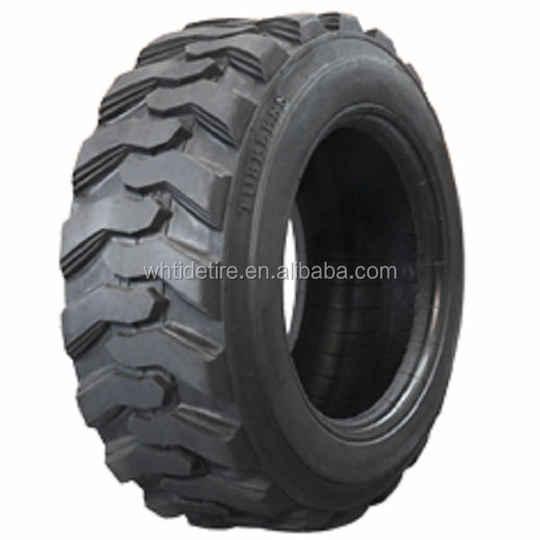 Chinese Agriculture Tractor bias truck tire 12-16.5 bobcat skidsteer tire