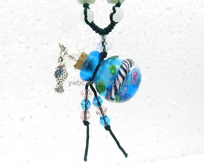 Eco-friendly glass bottle Kids Jewelry for necklace JY061