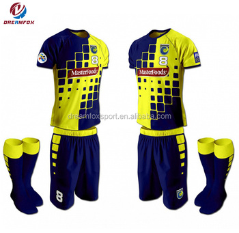 2018 best quality customized youth sublimation soccer jerseys football shirt e22ae2191585