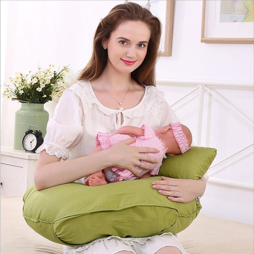 MQYH Breast pillow U type breastfeeding pillow feeding pillow baby baby multifunctional pillow pregnant women nursing pad (62 15 50) , 621550