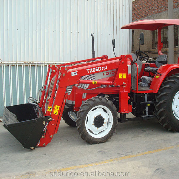 Used Lawn Tractor With Front Loader : Wd tractor with front end loader buy garden