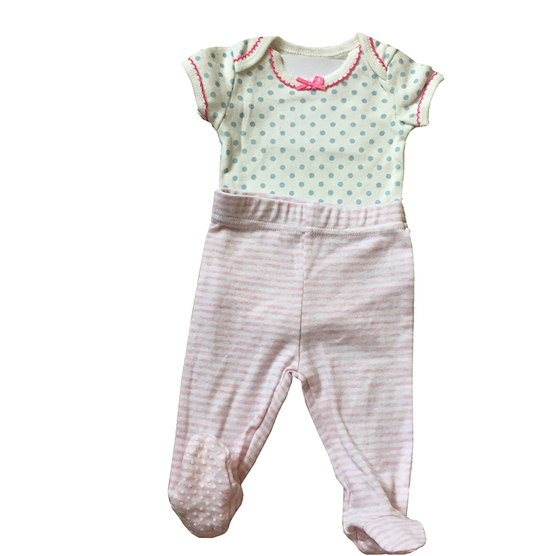 Organic cotton baby romper suit Infant toddler clothing short sleeve newborn girl baby clothes romper