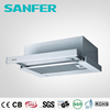 Slim Style White Panel Range Hood With Rocker Switch
